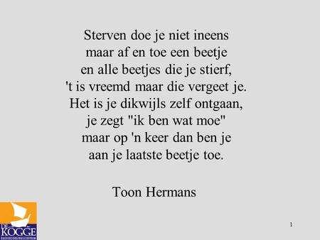 New Populair Gedicht Overlijden Moeder Toon Hermans @QEF78 - AgnesWaMu @DO83
